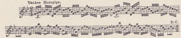 Yankee Hornpipe